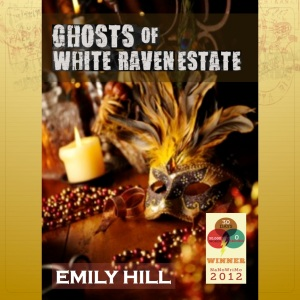 Ghosts of White Raven Estate ~ Available where eBooks and paperbacks are Sold!