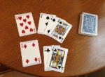 After six draws THESE Seven Cards continually repeated -- Why??