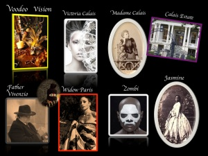 'Voodoo Vision' Cast of Characters